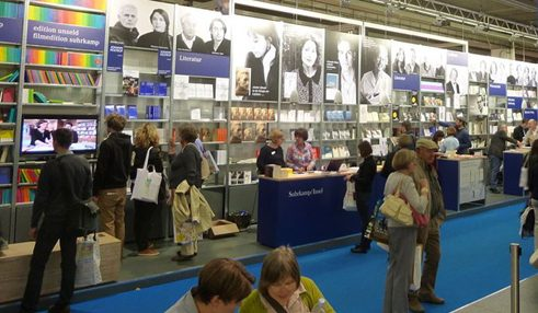 Suhrkamp publishers at Frankfurt Book Fair 2012