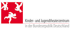 The logo of  the Children's and Young People's Theatre Centre in the Federal Republic of Germany