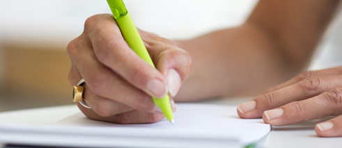 Goethe-Institut German exams registration © Photo: Goethe-Institut/Bettina Siegwart Goethe-Institut German exams registration