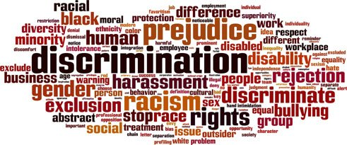 Intersectionality comprises various forms of discrimination faced by a single person.