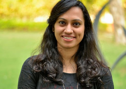 Megha Sindhwani, 27, doing a PhD course at the University of Delhi, India