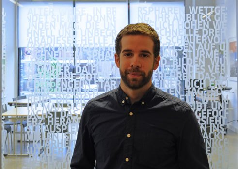 David Gosselin, 29, Promotion in Germanistik an der McGill University in Montréal, Kanada