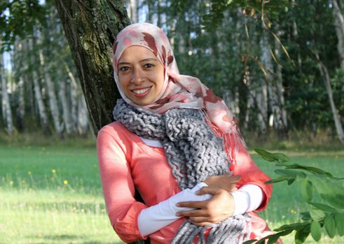 Doaa Hamed, 27, doing a Master's course in GFL in an Arab-German Context in Cairo, Egypt