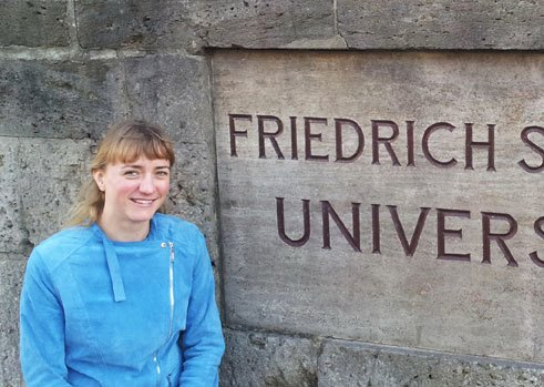 Irene Bens, 30, Department for German Studies Abroad, GFL and GSL (Master's) at the Friedrich Schiller University, Jena, Germany