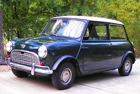 Austin Mini Super-Deluxe (Bj 1963)