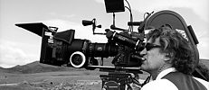 Wim Wenders in Aktion