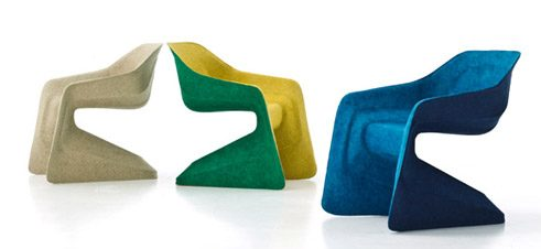 Hemp Chair, Werner Aisslinger, Moroso