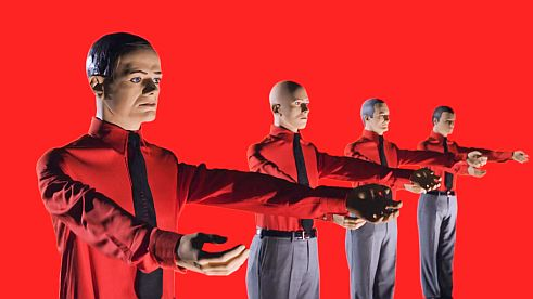 Foto: Kraftwerk, 3D-Video-Installation 12345678, The Mix, 2013
