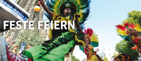 Kalenderbild: Karneval der Kulturen in Berlin