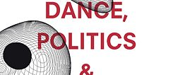 "Capa de ""Dance, Politics and Co-Immunity"", Stefan Hölscher (Org.), Gerald Siegmund (Org.)"