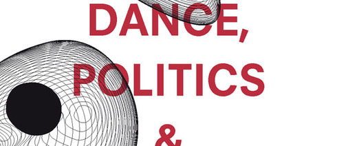 "Part of the Cover of ""Dance, Politics & Co-Immunity"", Stefan Hölscher (ed.), Gerald Siegmund (ed.)"