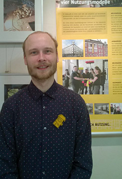 Hannes Lindemann, executive board member of HausHalten e.V.