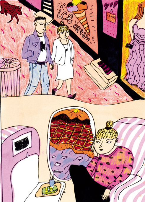 "Comic ""Love Ticket"", erschienen in š! #17 ""Sweet Romance"""