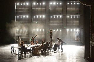"""The Last Days of Mankind"" by Karl Kraus; director: Georg Schmiedleitner / Vienna Burgtheater;"