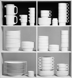 Dinnerware TC 100 1959, design: Hans (Nick) Roericht