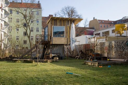 Treehouse in the centre of Berlin