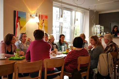 Meeting cafe at the multigenerational house in Lemgo