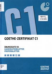 Materialien Aus Der Bibliothek C1 Goethe Institut Türkei
