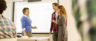 Further training with interactive whiteboard