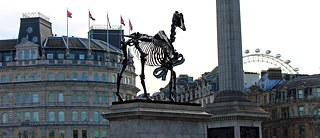 Hans Haacke`s 'Gift Horse' on the Fourth Plinth