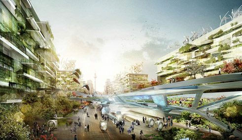 Brave new urban world – vision of the city of the future;