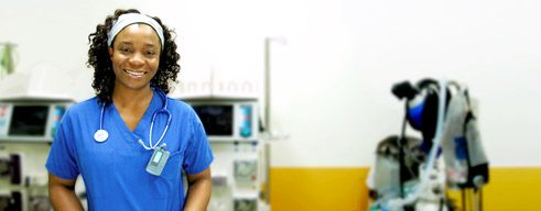Career in Germany: Michelle-Ange Monteu from Cameroon works as a doctor in Baden-Württemberg;