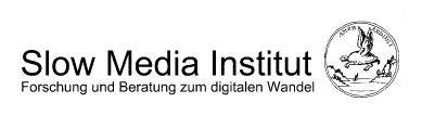 Slow Media Institut Bonn