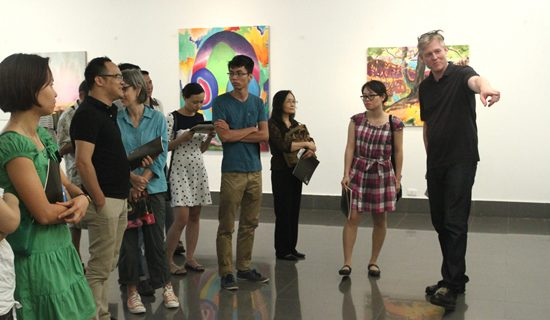 "Exhibition ""New Painting from Germany"""