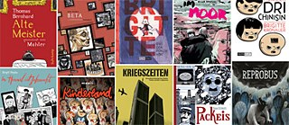 Buchcover deutscher Graphic Novels