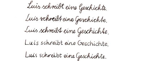 Learning How To Write In Germany Print Vs Script Goethe Institut
