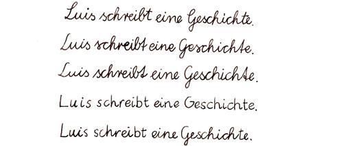 schreiben lernen in deutschland druckschrift vs schreibschrift goethe institut china. Black Bedroom Furniture Sets. Home Design Ideas