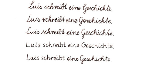 Learning how to write in Germany: Print vs. Script - Goethe ...