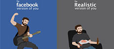 The facebook version of you – the Realistic version of you