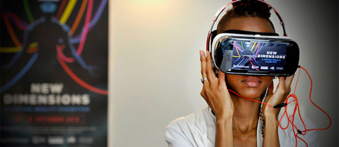 Immersing herself in virtual realities: Africa and modern technologies are no longer a paradox (Photo: Lerato Maduna)