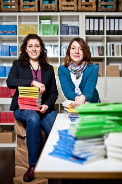 Selma Wels and Inci Bürhaniye have founded Binooki Verlag, a publishing house;