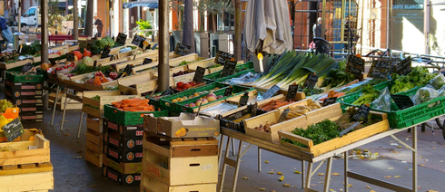 Markttag in Toulouse