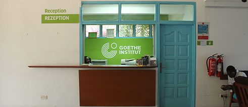 Reception of Goethe-Institut Ghana