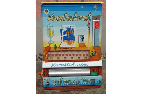 Kunstautomat in Münster