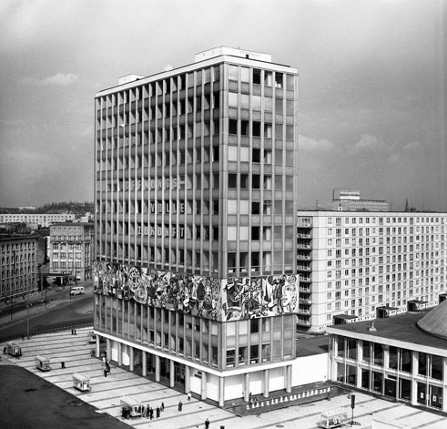 German post war modernism the architectural legacy of the for Architecture 1960