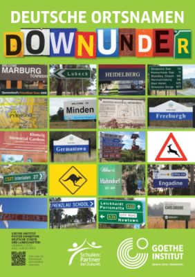 German for young learners - Down Under: German City Names