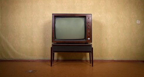 Televisions took over living rooms everywhere.