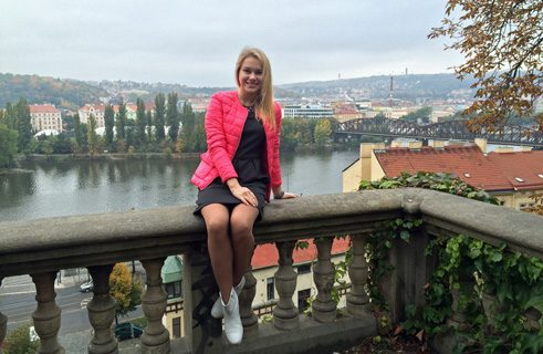 Anna Khitrova from Russia did her bachelor degree in economics at the European University Viadrina in Frankfurt (Oder).