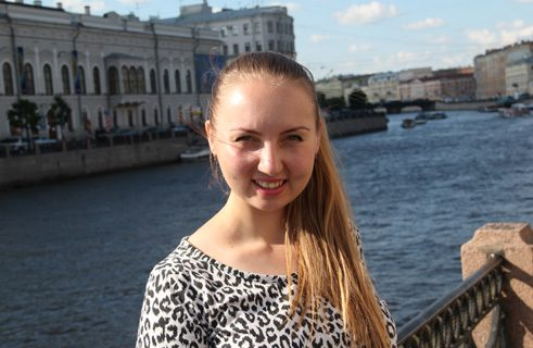 Olga Blanuta from Moldova is doing her master's in economics at the University of Trier.