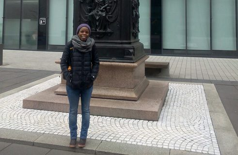 Rachel Muchira from Kenya attended a summer course at the University of Bremen and is now doing a Ph.D. at the University of Leipzig.