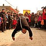 Village martial arts teams now perform free demonstrations in villages throughout the region