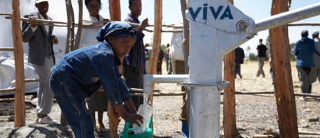 Access to drinking water and sanitation – that's something the organisation Viva con Agua has made possible for more than half a million people;