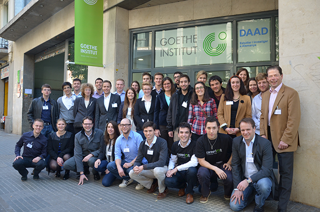"Workshop ""Talent Mobility within the EU"" amb estudiants de Catalunya i d'Alemanya (2013)."