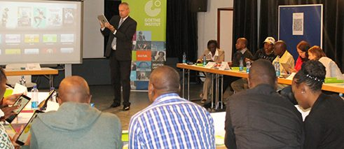 Training at the Goethe-Institut