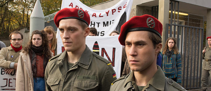 Deutschland 83: Jonas Nay and Ludwig Trepte