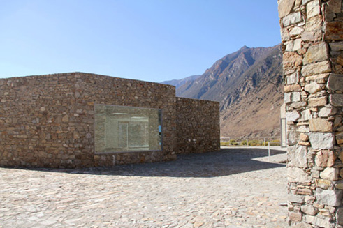 Exhibition level of the Yarlung Tsangpo Grand Canyon Art Centre